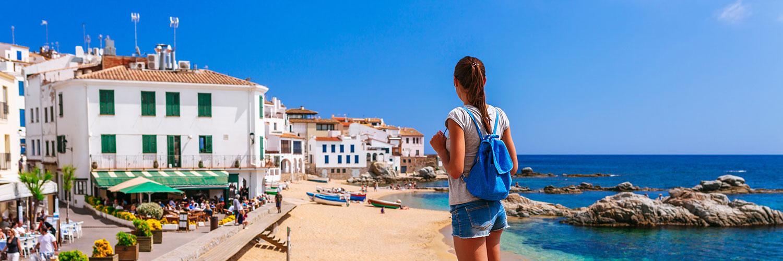 Banner Jugendreisen Lloret de Mar, Spanien ab 16
